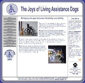 The Joys of Living Assistance Dogs